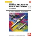 Essential Jazz Lines in the Style of John Coltrane, Flute Edition