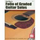 Folio of Graded Guitar Solos