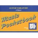 Guitar Tablature/4-Stave Pocketbook