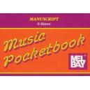 Manuscript/6 Stave Pocketbook