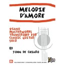 Melodie DAmore - Piano Masterworks Transcribed for Calssic Guitar Solo