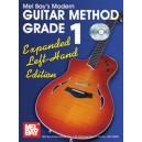 Modern Guitar Method Grade 1, Expanded Edition Left Hand Edt.