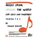 Music From Around The World - Solo & Ensemble - Violin 1 & 2