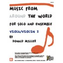 Music From Around The World For Solo & Ensemble, Viola-Violin - Volume 3