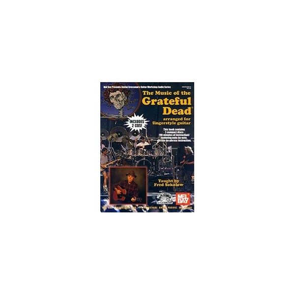 Music of the Grateful Dead Arranged for Fingerstyle Guitar