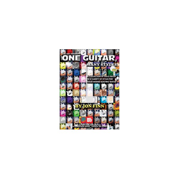 One Guitar, Many Styles - Solo Pieces for Electric Guitar