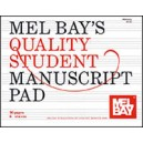 Quality Student Manuscript Pad 6-Stave