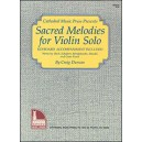 Sacred Melodies for Violin Solo