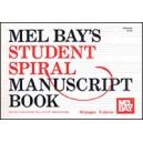 Student Spiral Manuscript Book 5-Stave