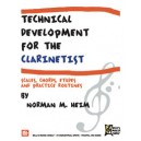 Technical Development for the Clarinetist - Scales, Chords, Etudes and Practice Routines