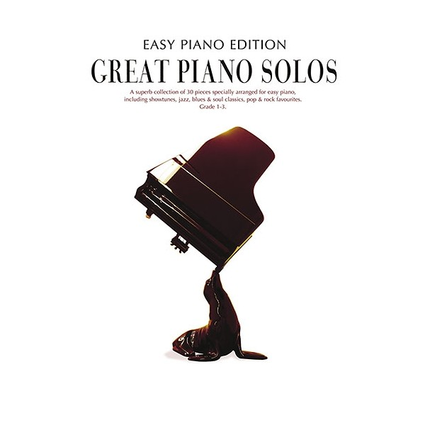 Great Piano Solos - The Black Book (Easy Piano Edition)