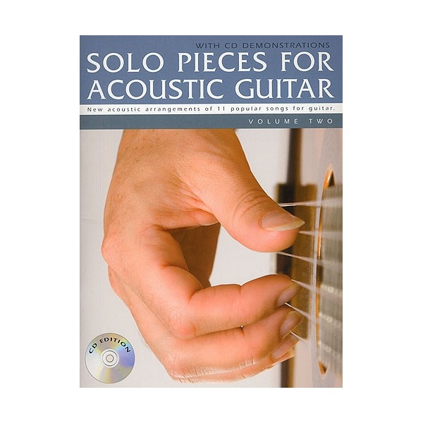 Solo Pieces for Acoustic Guitar - Volume Two (Book & CD)