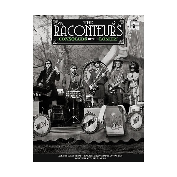 The Raconteurs Consolers Of The Lonely Tab