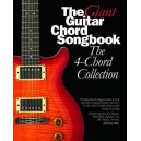 The Giant Guitar Chord Songbook: The 4-Chord Collection