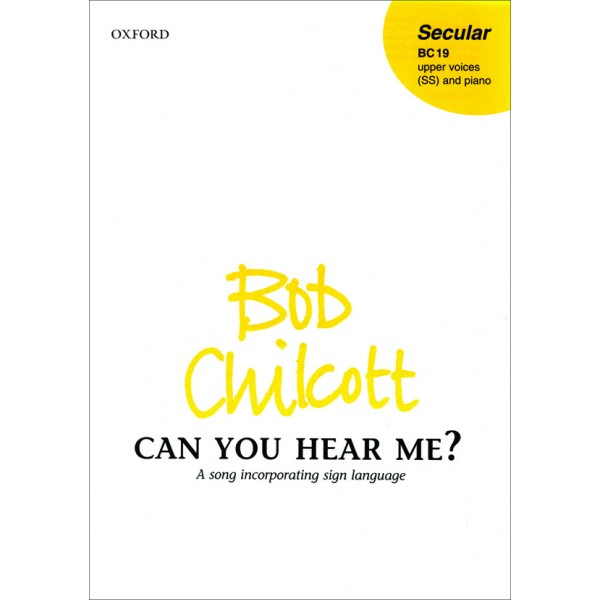 Can you hear me? - Chilcott, Bob