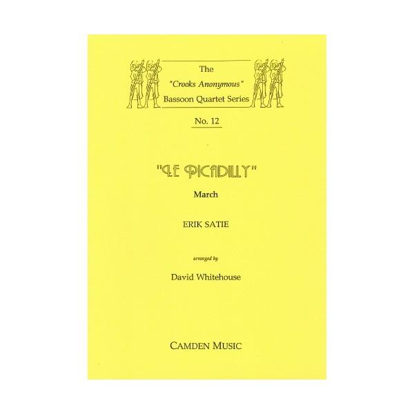 Le Piccadilly - March - Erik Satie Arr: David Whitehouse