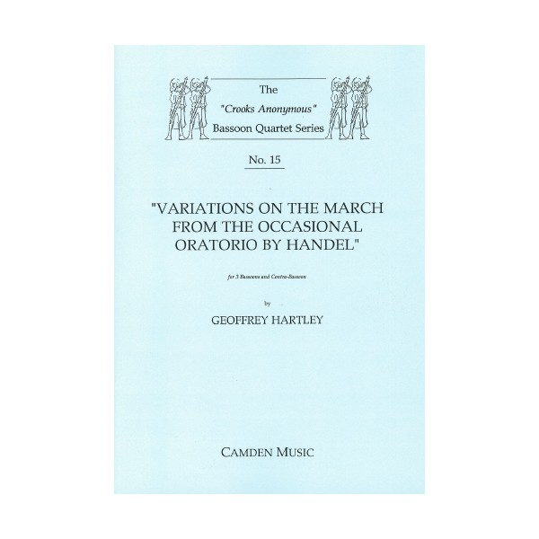 Variations on the March from the Occasional Oratorio - Geoffrey Hartley