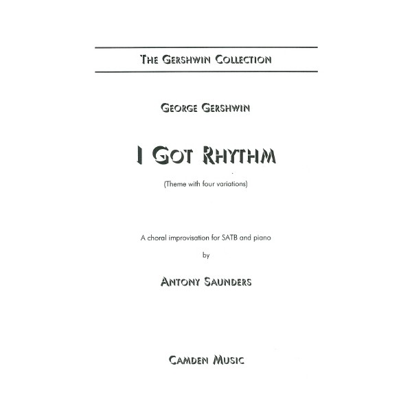 """a critique of i got rhythm by george gershwin George gershwin (september 26, 1898 i got rhythm variations for piano and orchestra be the first to review """"gershwin, george"""" cancel reply."""