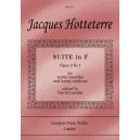 Suite in F Op.2 No.1.  - Jacques Hotteterre le Romain