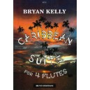Caribbean Suite for Four Flutes - Bryan Kelly