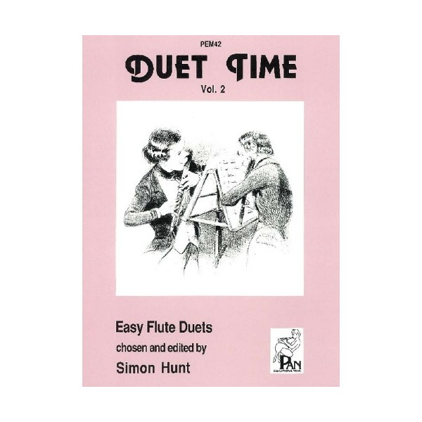 Duet Time Volume 2 - Berbiguier, Donizetti, Haydn, Hunt, Mozart, Schubert, Schumann and Tulou Arr: Erskine