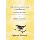Four Pieces from Dolly Op. 56 - Gabriel Fauré Arr: Arthur Campbell