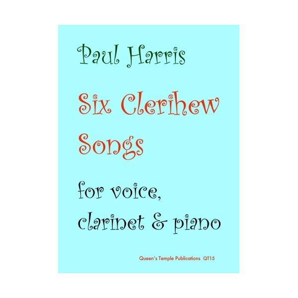 Six Clerihew Songs - Paul Harris