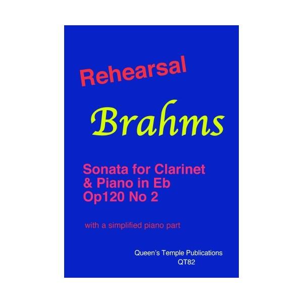 Rehearsal Brahms: Clarinet Sonata in Eb - Johannes Brahms Arr: Benjamin Davey
