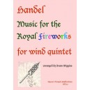 Music for the Royal Fireworks - George Frideric Handel Arr: Bram Wiggins