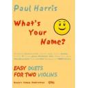 Harris, Paul - Whats Your Name?