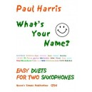 Harris, Paul - Whats Your Name?
