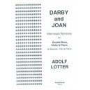 Darby & Joan for Violin, Double Bass and Piano - Adolf Lotter