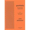 Portfolio - Five Miniature Works of Art - John  Alexander
