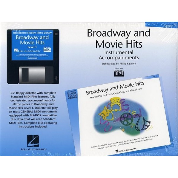 Hal Leonard Student Piano Library: Broadway And Movie Hits Level 1 (GM Disk)