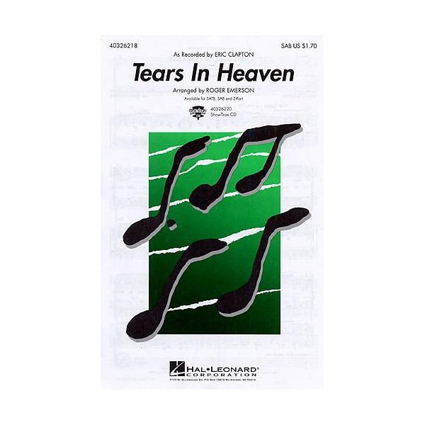 Eric Clapton: Tears In Heaven (SAB/Piano)