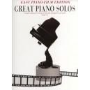 Great Piano Solos: Easy Piano Film Edition