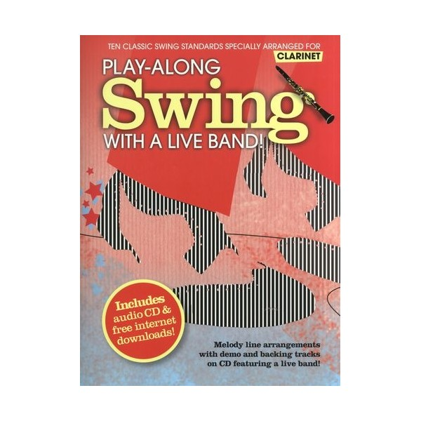 Play-Along Swing With A Live Band! - Clarinet
