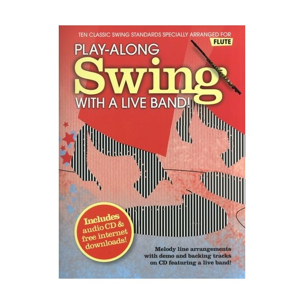 Play-Along Swing With A Live Band! - Flute