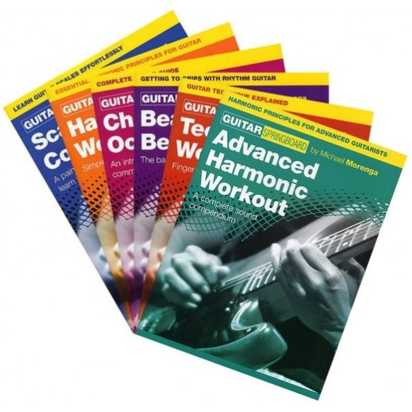 The Ultimate Guitar Sourcebook Pack: Guitar Techniques Explained (6 Complete Books)
