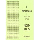 5 Miniatures - Judith Bailey