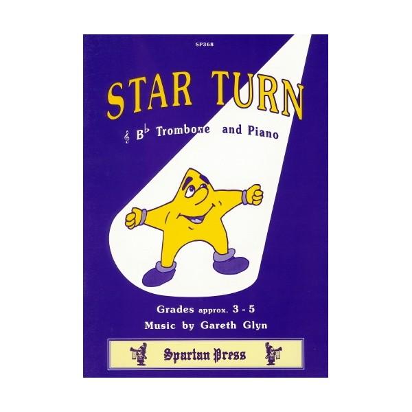Star Turn: Bb Trombone treble clef - Gareth Glyn