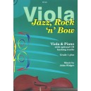 Jazz, Rock n Bow for Viola & Piano with CD - John Widger