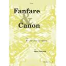 Fanfare & Canon for beginner clarinet group - Alan Bullard