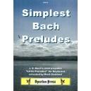 Simplest Bach Preludes - Johann Sebastian Bach