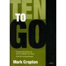 Ten To Go for Alto Sax & Piano - Mark Cropton