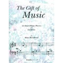 The Gift of Music: 13 Short Piano Pieces for Children - Elias Davidsson