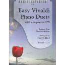Easy Vivaldi Piano Duets (New version with CD) - Antonio Vivaldi Arr: Mark Goddard