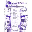 Reid & Carr - Duncan & Pauls Shopping List