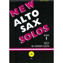 New Alto Sax Solos Book 1 - Graham Lyons