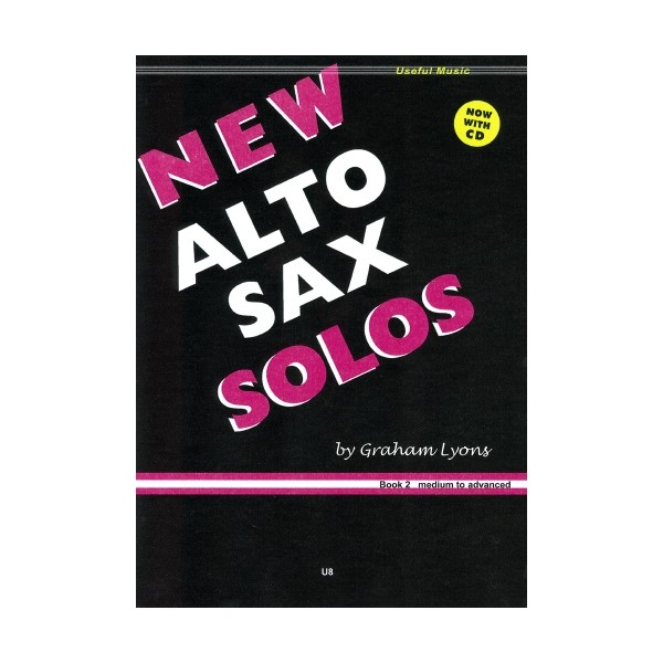 New Alto Sax Solos Book 2 with CD - Graham Lyons